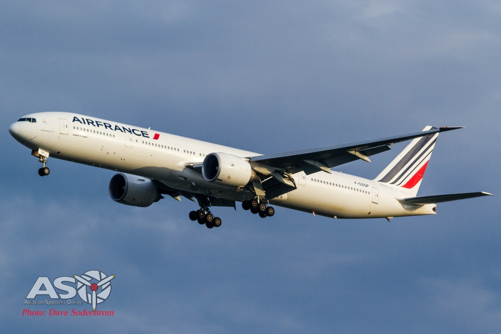 F-GSQP Air France Boeing 777-300 ASO (1 of 1)