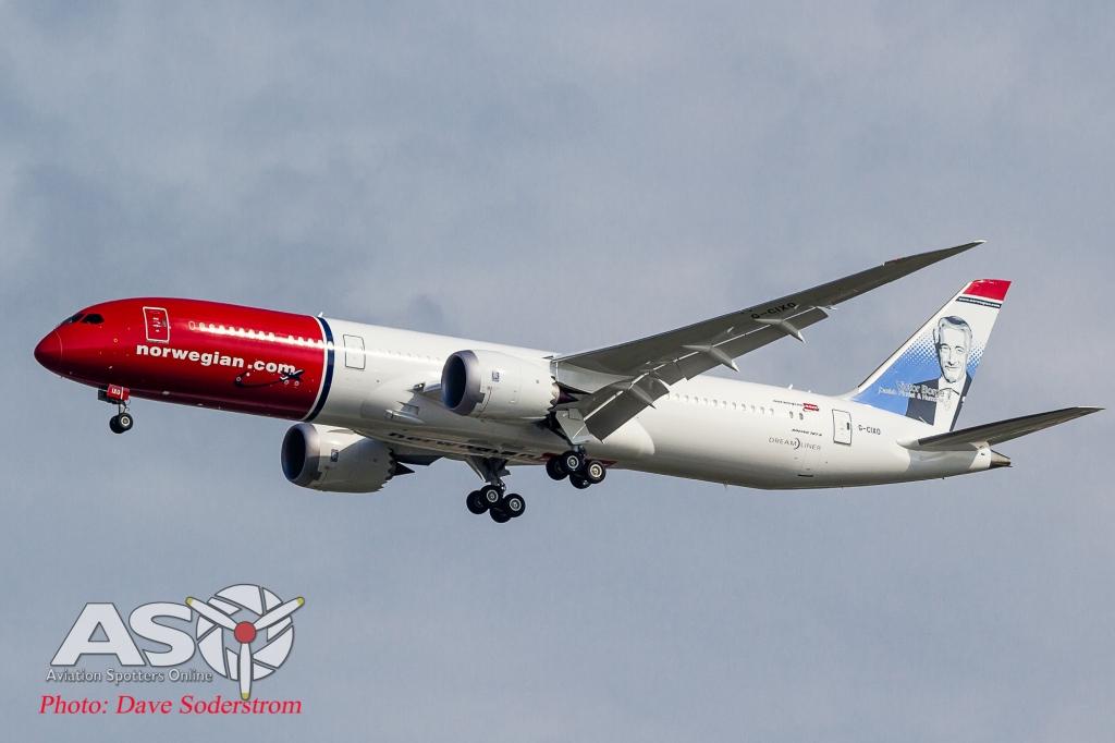 G-CIXO Norwegian Boeing 787-9 ASO (1 of 1)