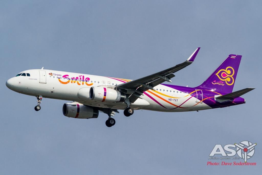 HS-TXT Thai Smile Airbus A320 ASO (1 of 1)