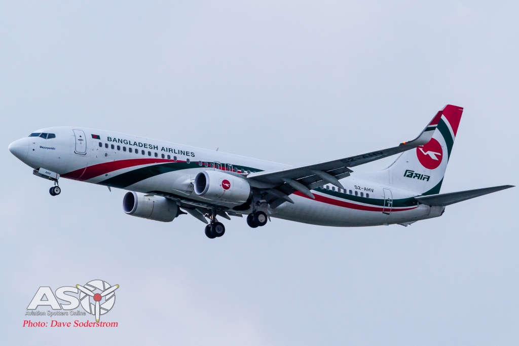 S2-ANV Bangladesh Airlines Boeing 737-800 ASO (1 of 1)