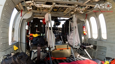Timberline Blackhawk interior.