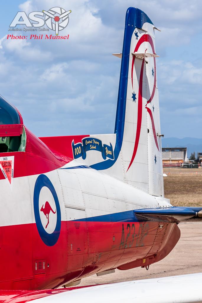RAAF Pilatus PC-9A Roulettes (58)