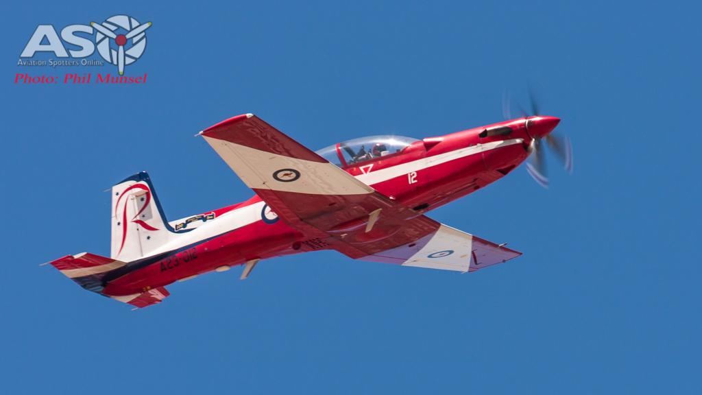 RAAF Pilatus PC-9A Roulettes (65)