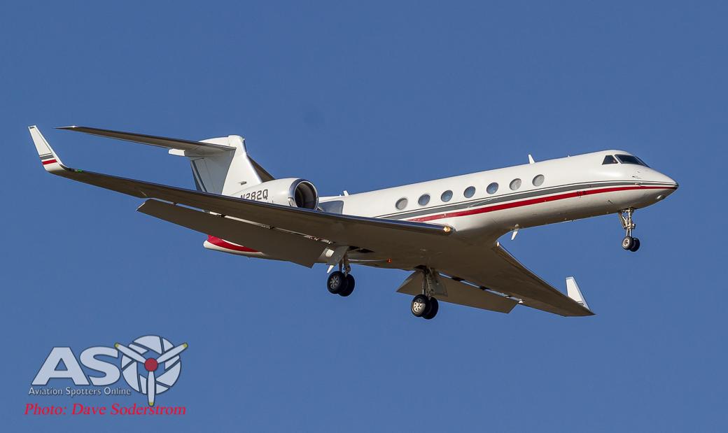 N282Q Gulfstream V ASO (1 of 1)