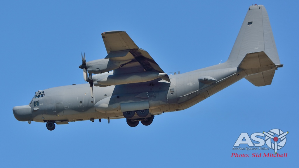 MC-130H Special Ops into Darwin