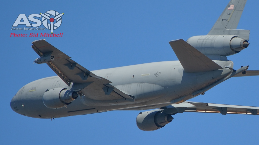 KC-10A Extender from Travis AFB into Darwin