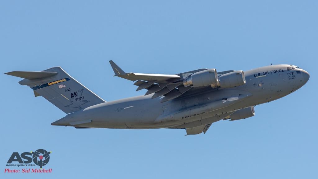 USAF C-17A Globemaster III 98-0051 'AK\'