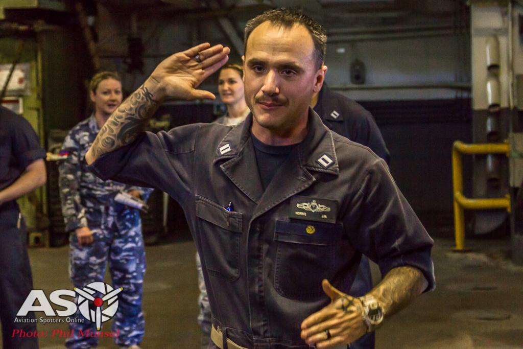 USS Bonhomme Richard 2017.Media Day (291)