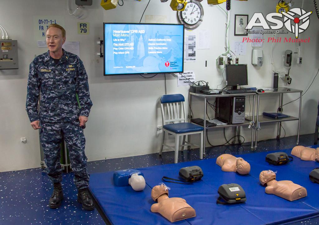 USS Bonhomme Richard 2017.Media Day (301)