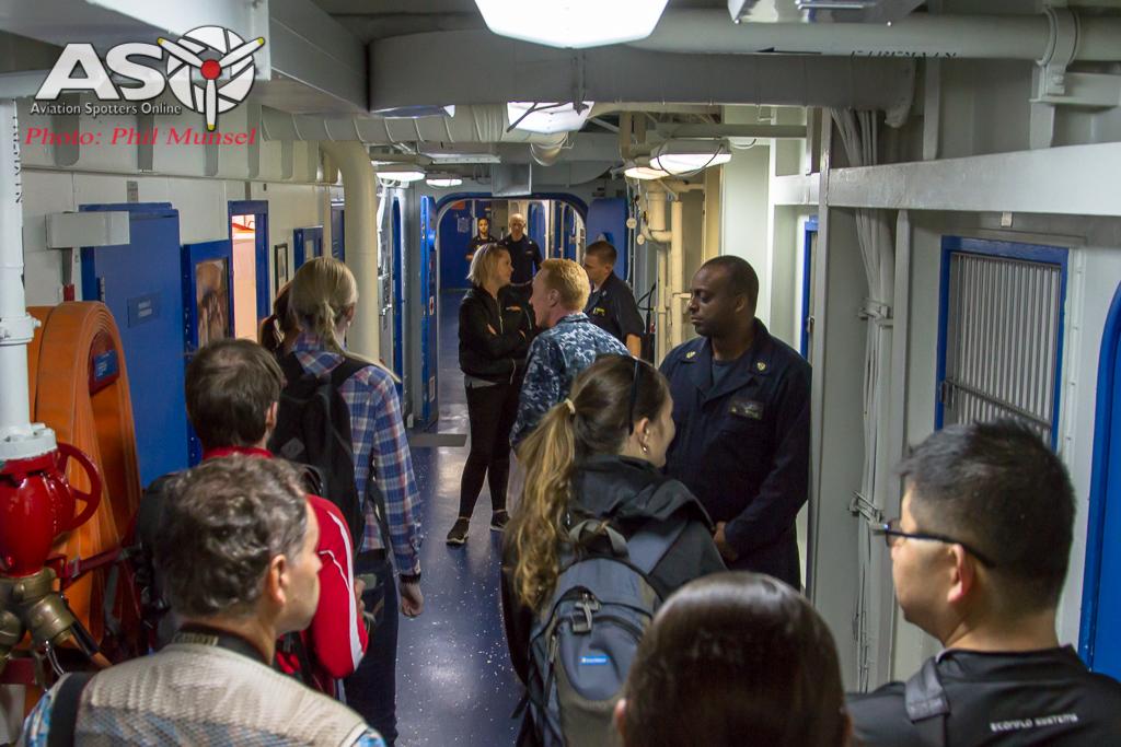 USS Bonhomme Richard 2017.Media Day (309)