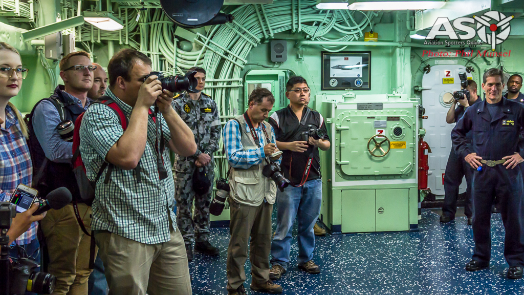 USS Bonhomme Richard 2017.Media Day (65)