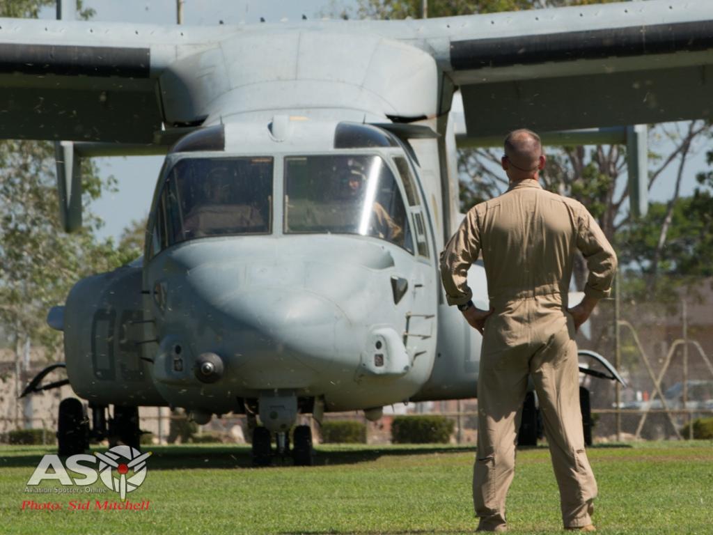 MV22B Osprey from VMM-268 landing