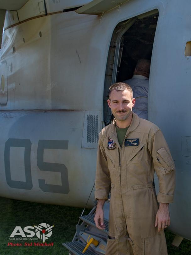 """1st Lt Flanagan VMM-268 \'Red Dragons\"""""""