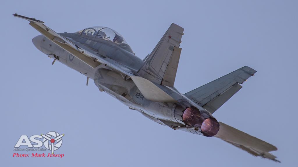 F/A-18B Hornet A21-114 2OCU.