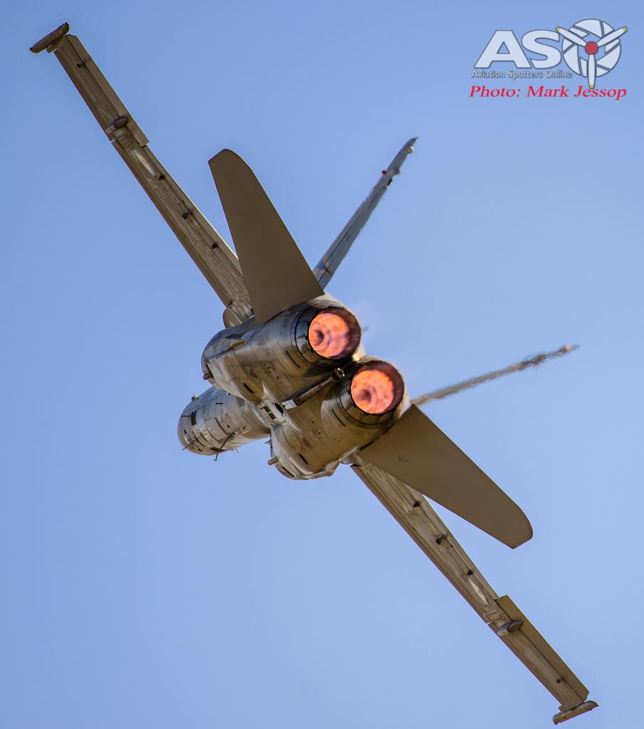 F/A-18B Hornet A21-118 2OCU.