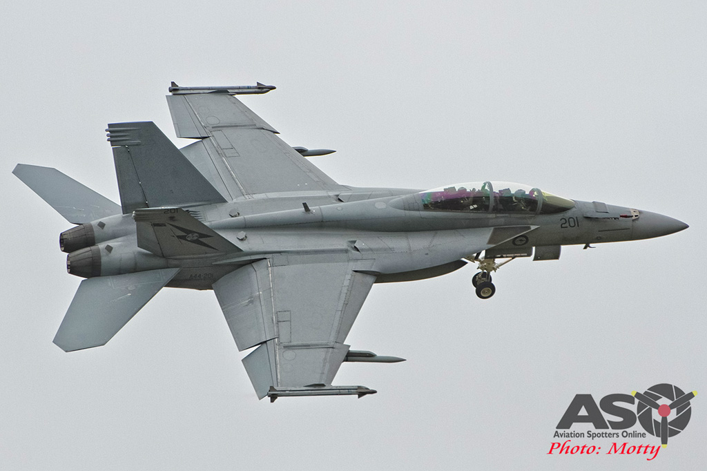 Mottys Williamtown Centenary 3 Family Day Super Hornet 0040 A44-201-ASO