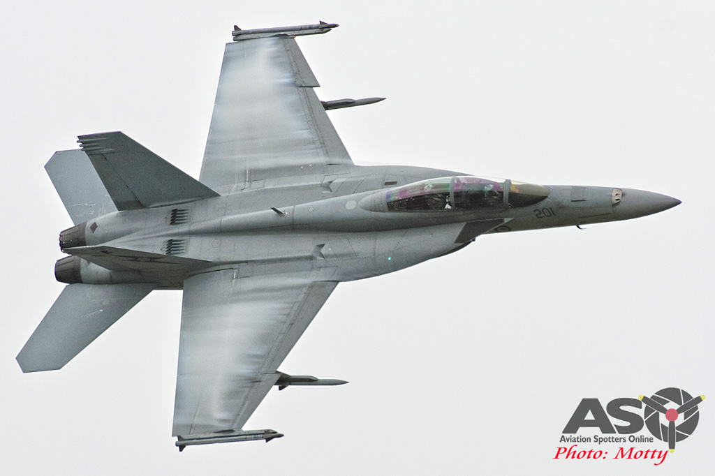 Mottys Williamtown Centenary 3 Family Day Super Hornet 0070 A44-201-ASO