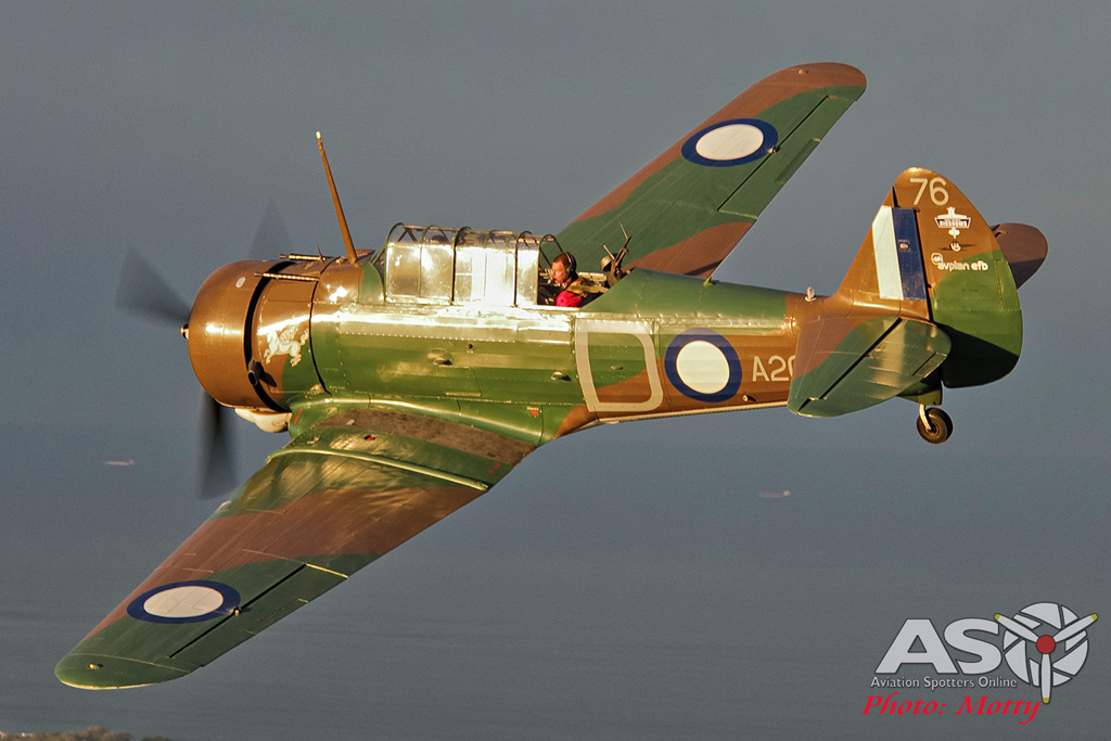 Mottys Paul Bennet Airshows Wirraway VH-WWY A2A 0080-ASO