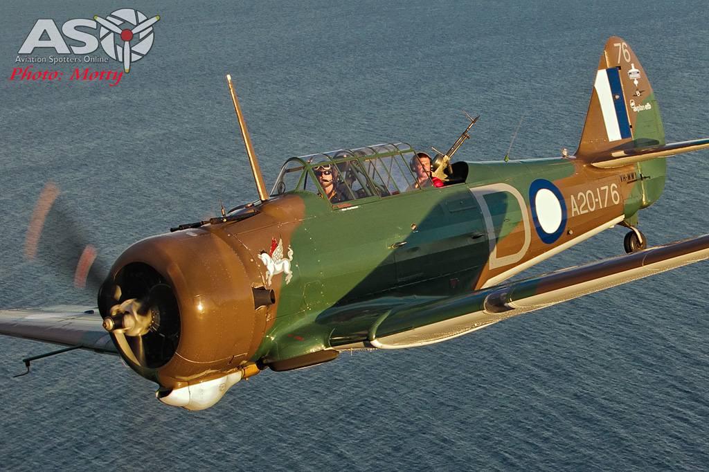 Mottys Paul Bennet Airshows Wirraway VH-WWY A2A 0170-ASO