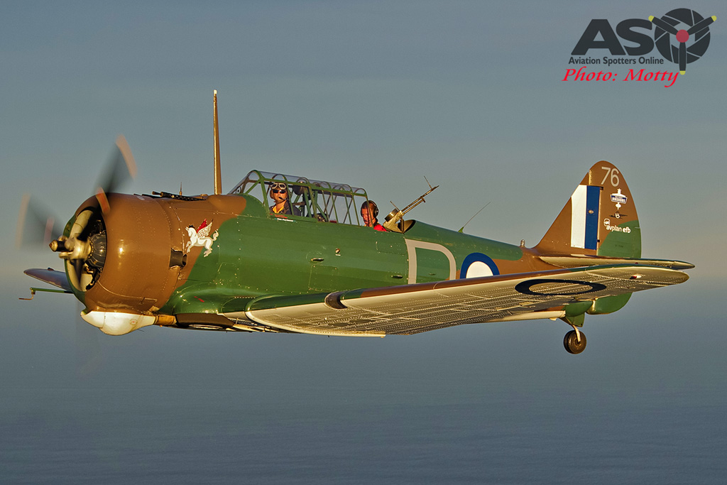 Mottys Paul Bennet Airshows Wirraway VH-WWY A2A 0260-ASO