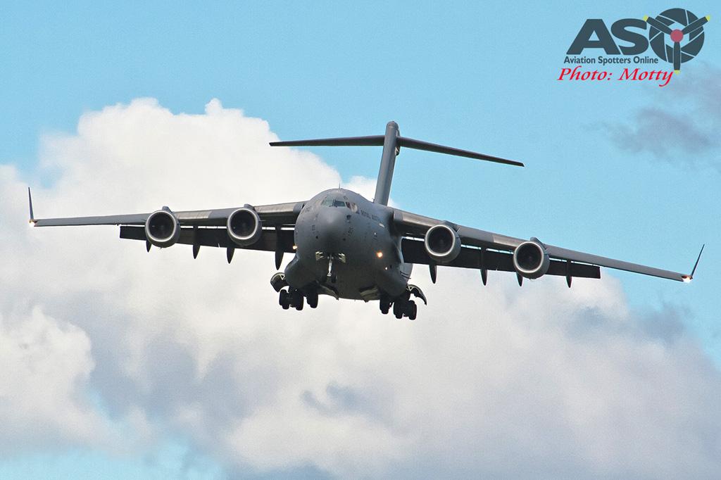 Wings Over Illawarra 2016 Globemaster III-170