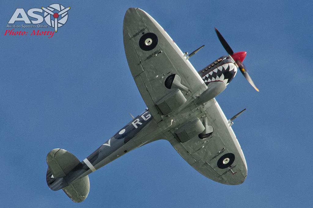 Wings Over Illawarra 2016 Spitfire-056