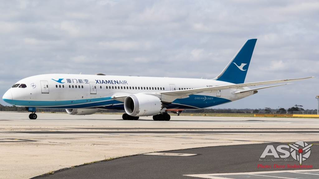 B-2763 Xiamen Airlines Boeing 787-9 ASO 4 (1 of 1)