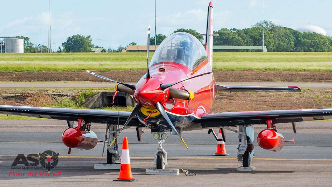 Newest additions to the RAAF arrive in Australia – Pilatus PC-21 A54-001 and A54-002