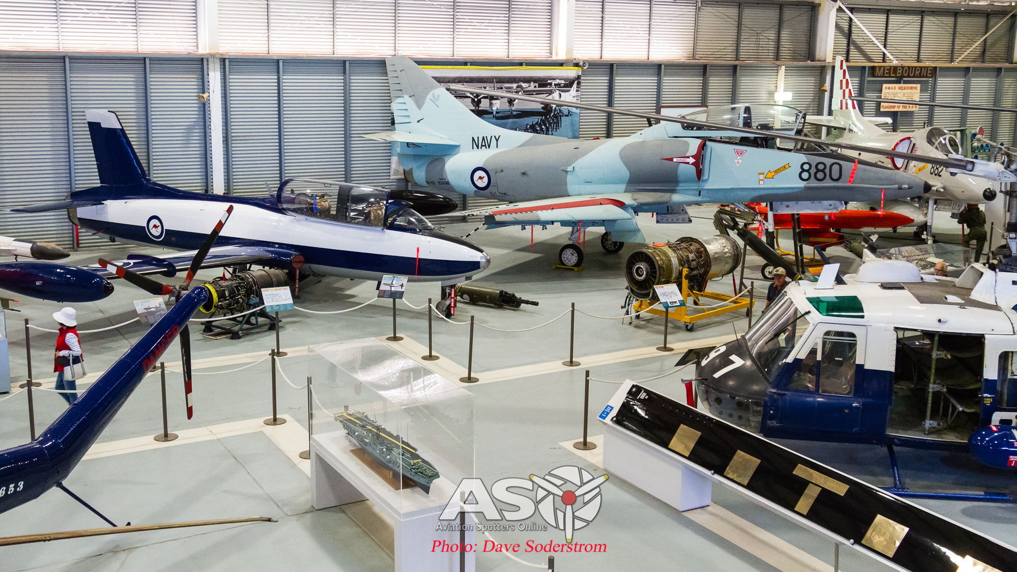Fleet Air Arm Museum, Nowra. Telling the story of the Royal Australian Navy