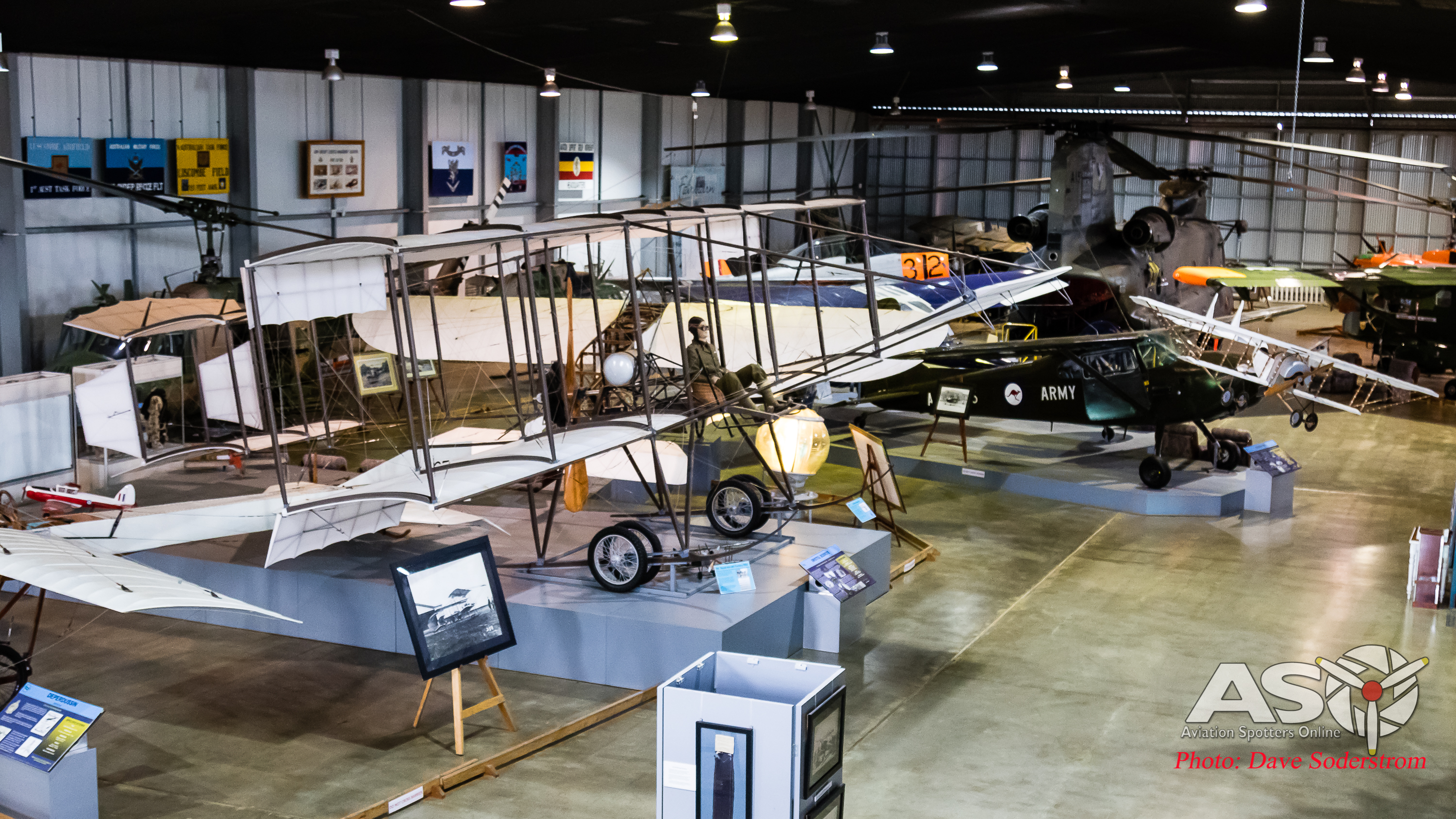 Army Museum of Aviation Oakey, telling the story of Army Aviation in Australia
