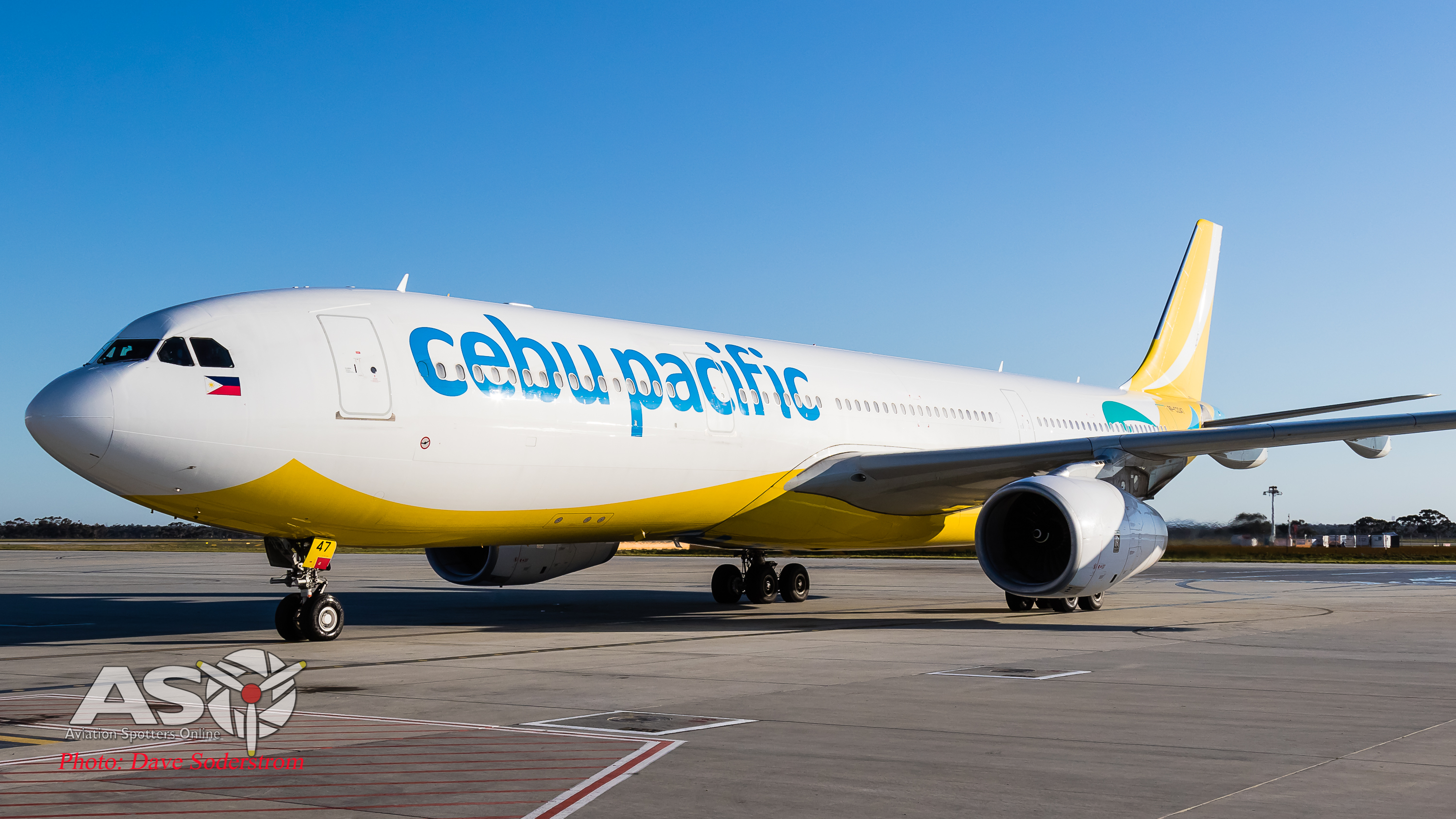 Maligayang pagdating sa Melbourne, Cebu Pacific Air touches down