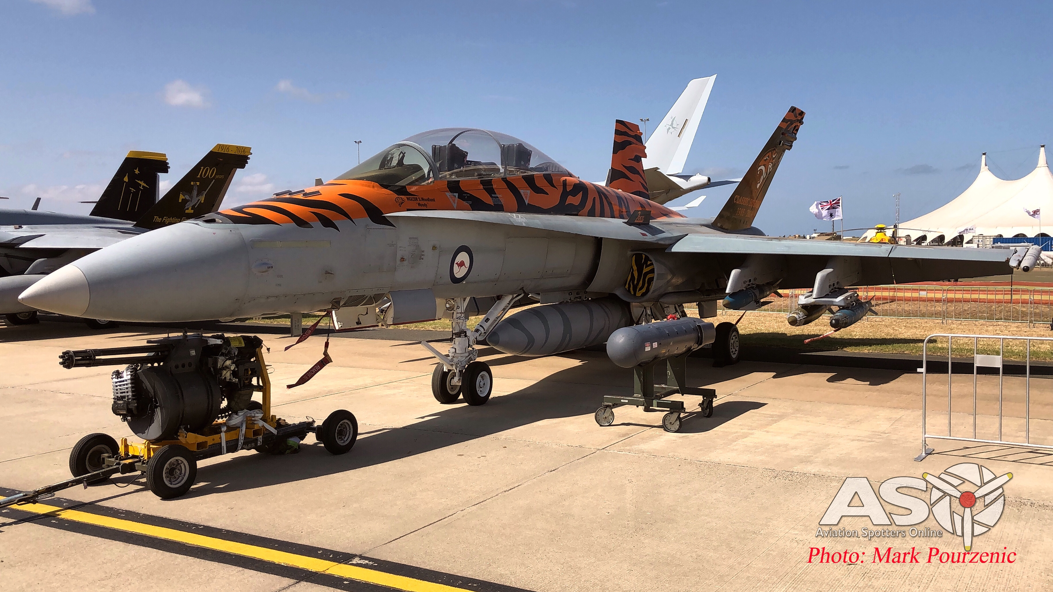 2019 Australian International Airshow – Australia's Flying Tiger