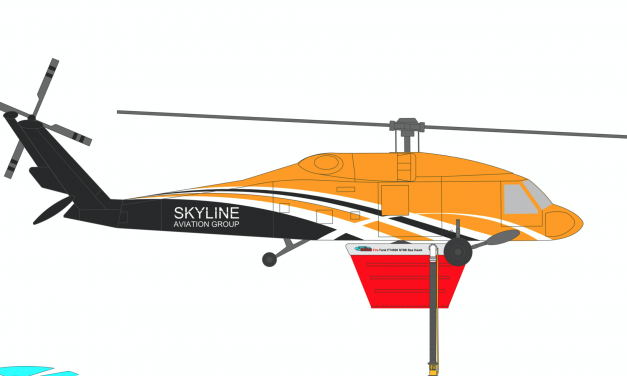 Press Release: Skyline Aviation, NSW Helicopter operator moves into Aerial Fire Fighting.
