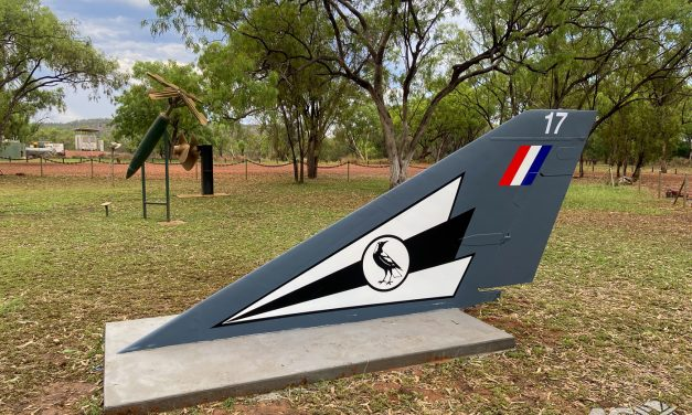 Top Cover for the Top End – Mirage A3-17 Fin relocation to Tomato Island, N.T