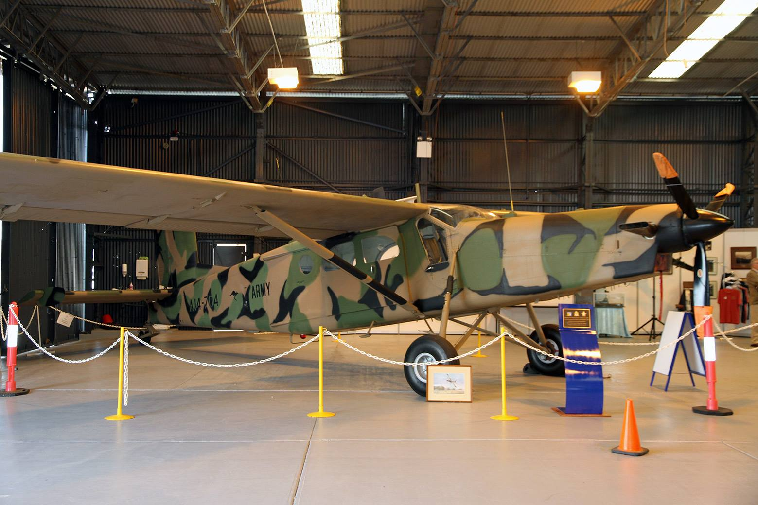 Porter goes on display at R.A.A.F AMBERLEY Heritage Centre