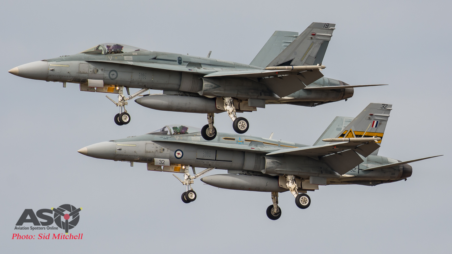 """Top End """"Dog Fighting""""-  F-16's and F-18's team up at Exercise Elang AUSINDO 17"""
