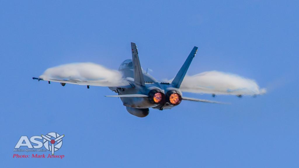 RAAF F/A-18F Super Hornet Avalon Airshow 2015
