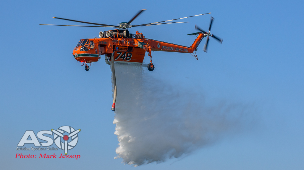 Erickson Air Crane in Action November 2006 Part 2.