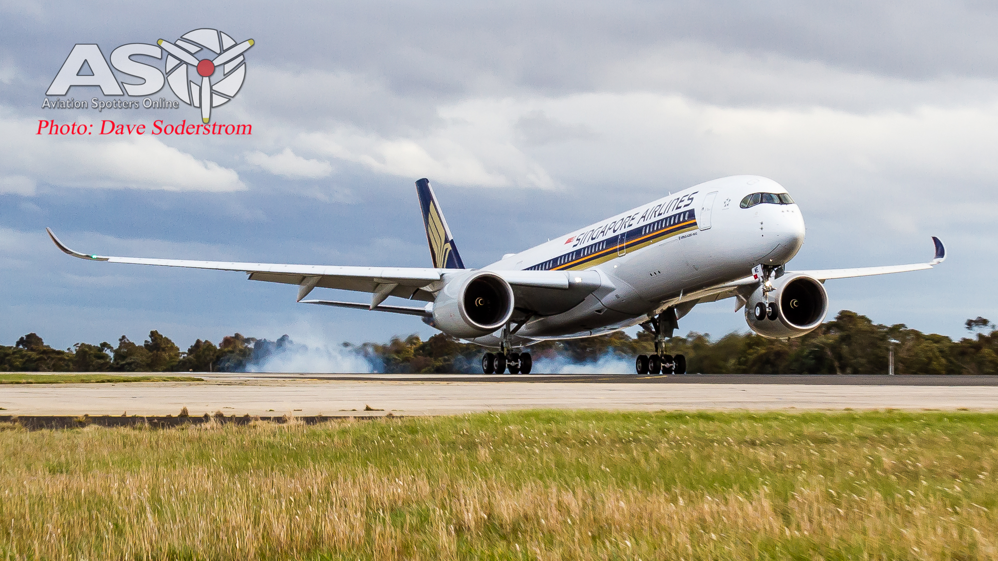 Singapore Airlines Airbus A350 first Service to Melbourne
