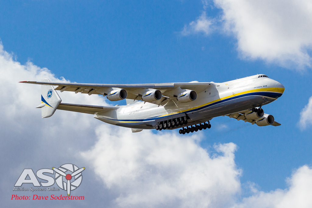 The 'Dream' becomes reality in Perth. Antonov AN-225 visit.