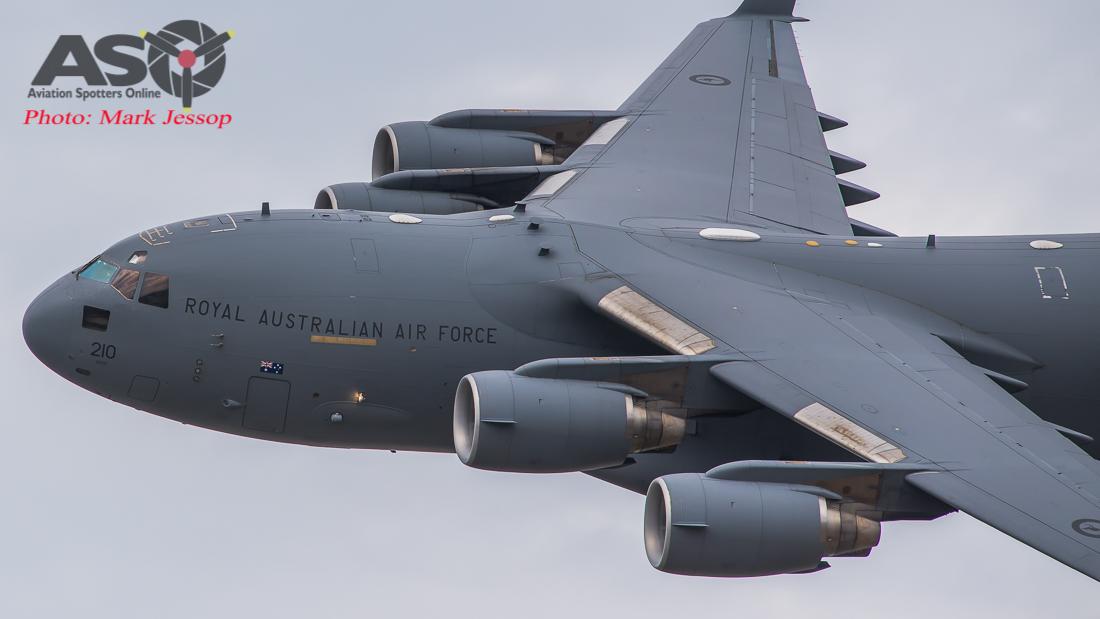 Two RAAF C-17A To Coduct Low Level Coastal Training Flight