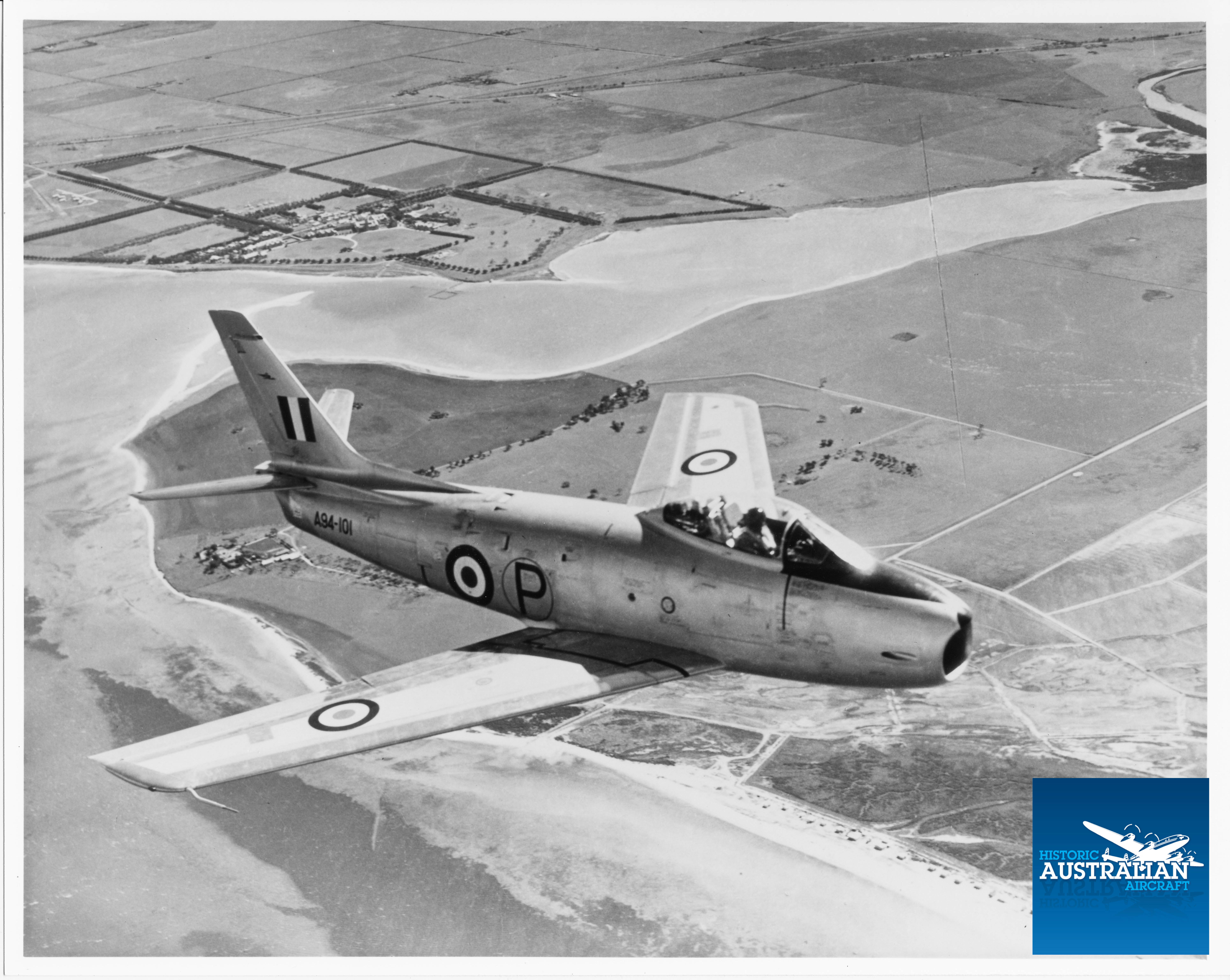 BOOM … First RAAF Sabre recording sonic boom!