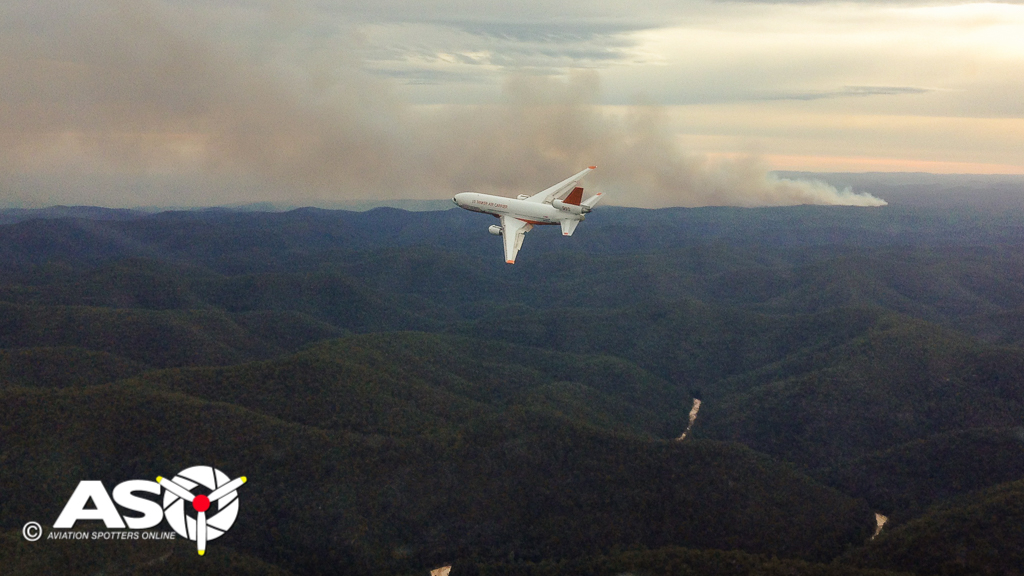 500 Aircraft Fighting Fires Across Australia