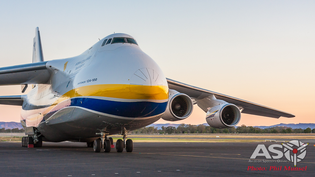 Antonov Charters For Exercise Wallaby 2016, Rockhampton, Australia