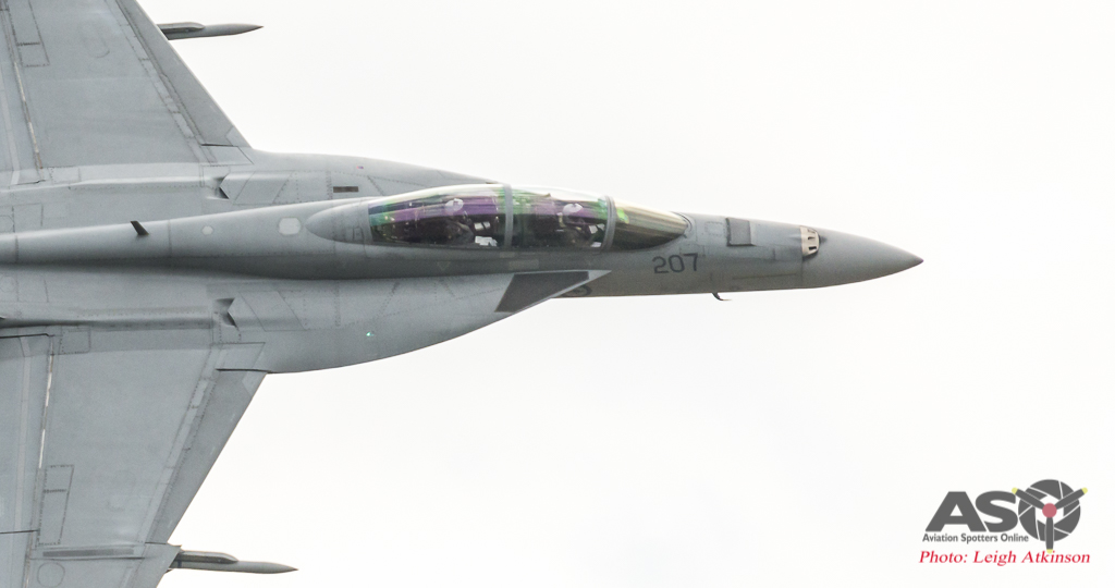 Australian International Airshow – Super Hornet Display Practice!
