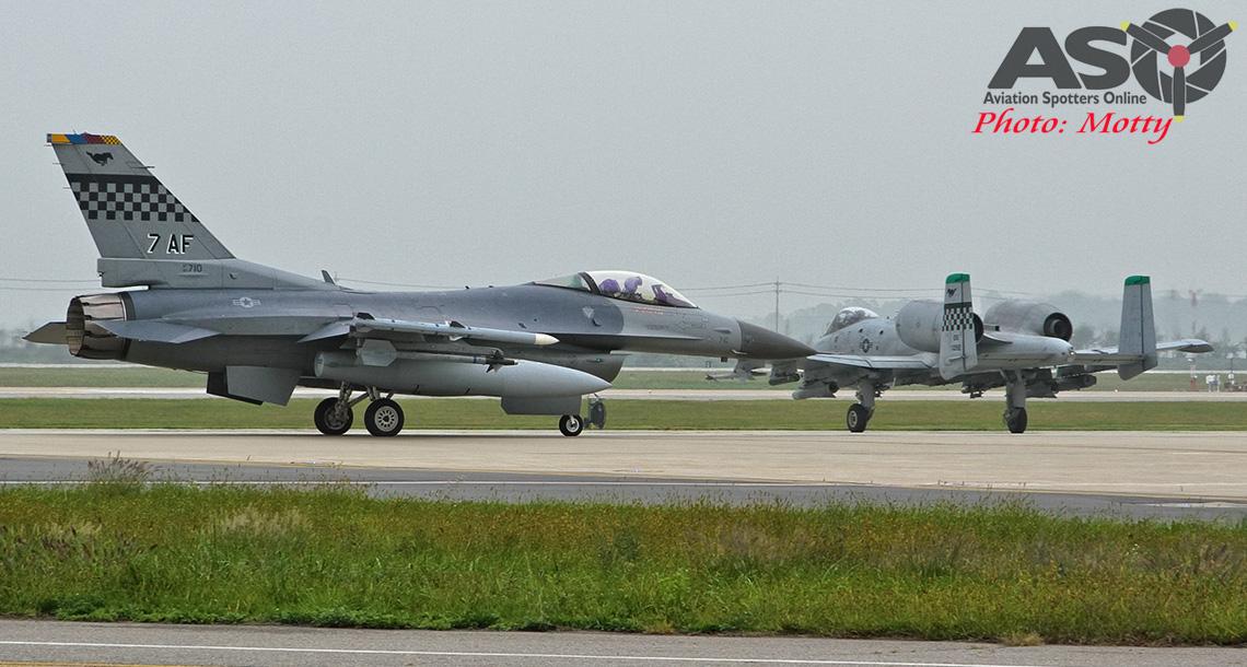Base Visit: 51st FW, Osan 2016