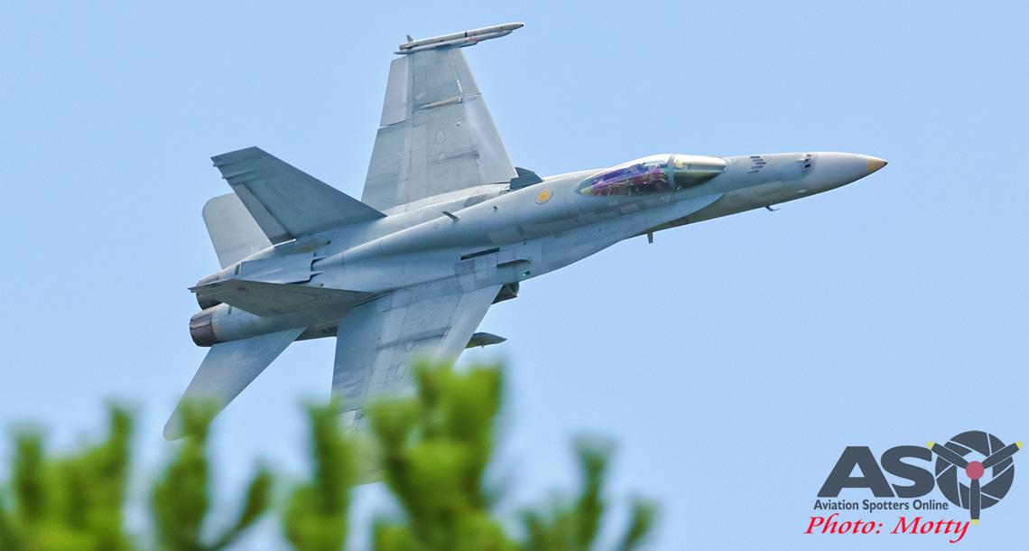 3 Squadron Flypast.
